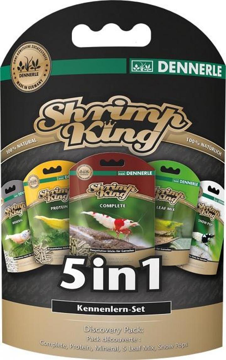 Dennerle - Shrimp King 5 in 1 - 30 grs