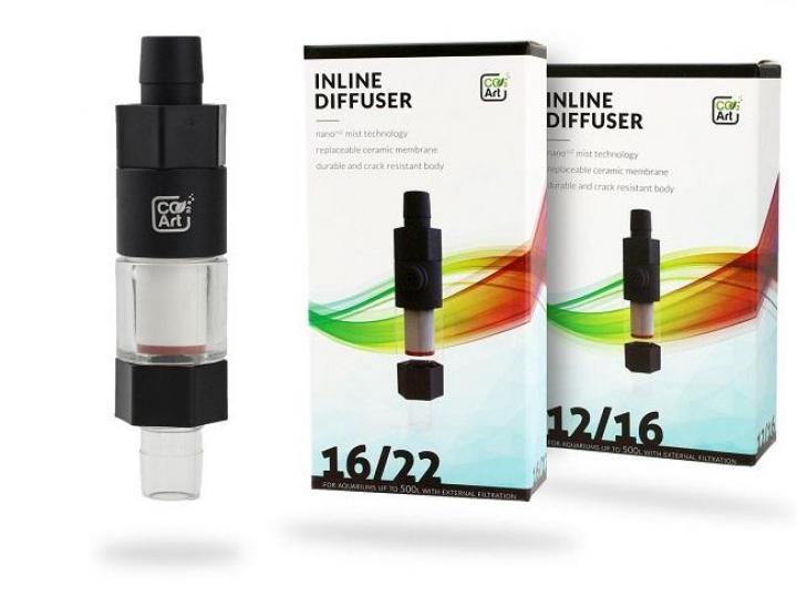 CO2Art Inline CO2 Aquarium Atomizer Diffuser System 12/16mm