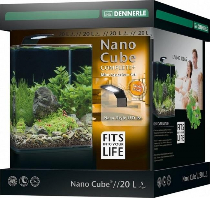 Dennerle - NANOCUBE® COMPLETE+ 20L Style LED M