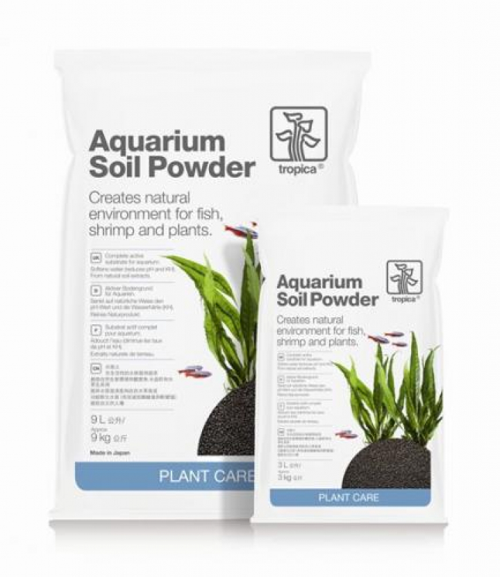 Aquarium Soil Powder 9 lts