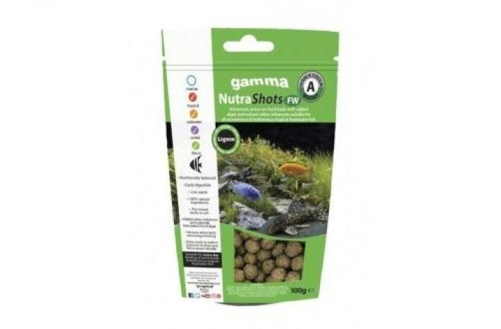 Gamma NutraShots FW Algae & Colour Boost 12mm 100g
