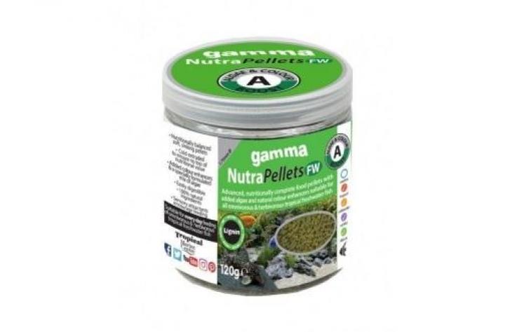 Gamma NutraPellets FW Algae & Colour Boost 1.75mm 120g