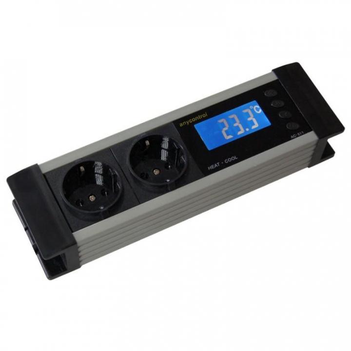 ThermoControler 2 em 1 (aquecimento / arrefecimento)