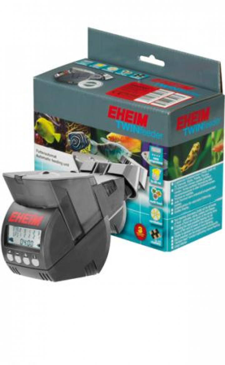 EHEIM Automatic TWINfeeder, battery operated