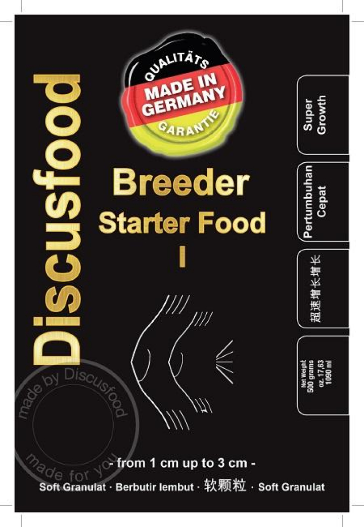 DiscusFood Breeder starter I 500 grs