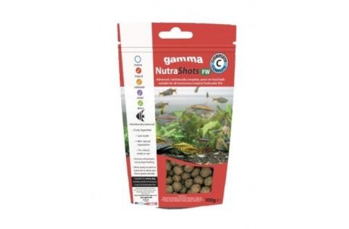 Gamma NutraShots FW Complete 12mm 100g