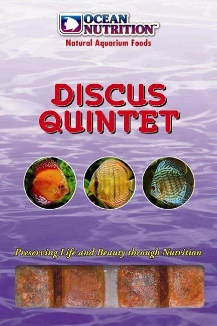 DISCUS - 5 VARIEDADES (10 CUBOS ) 100GR