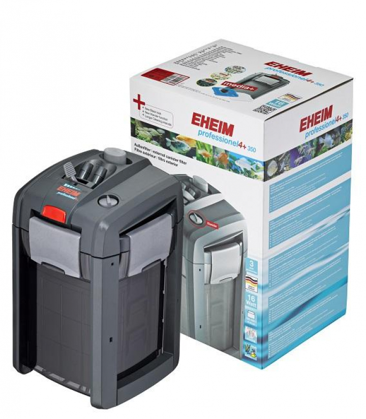 Eheim External canister filter professionel 4+ 350 W/ filter media