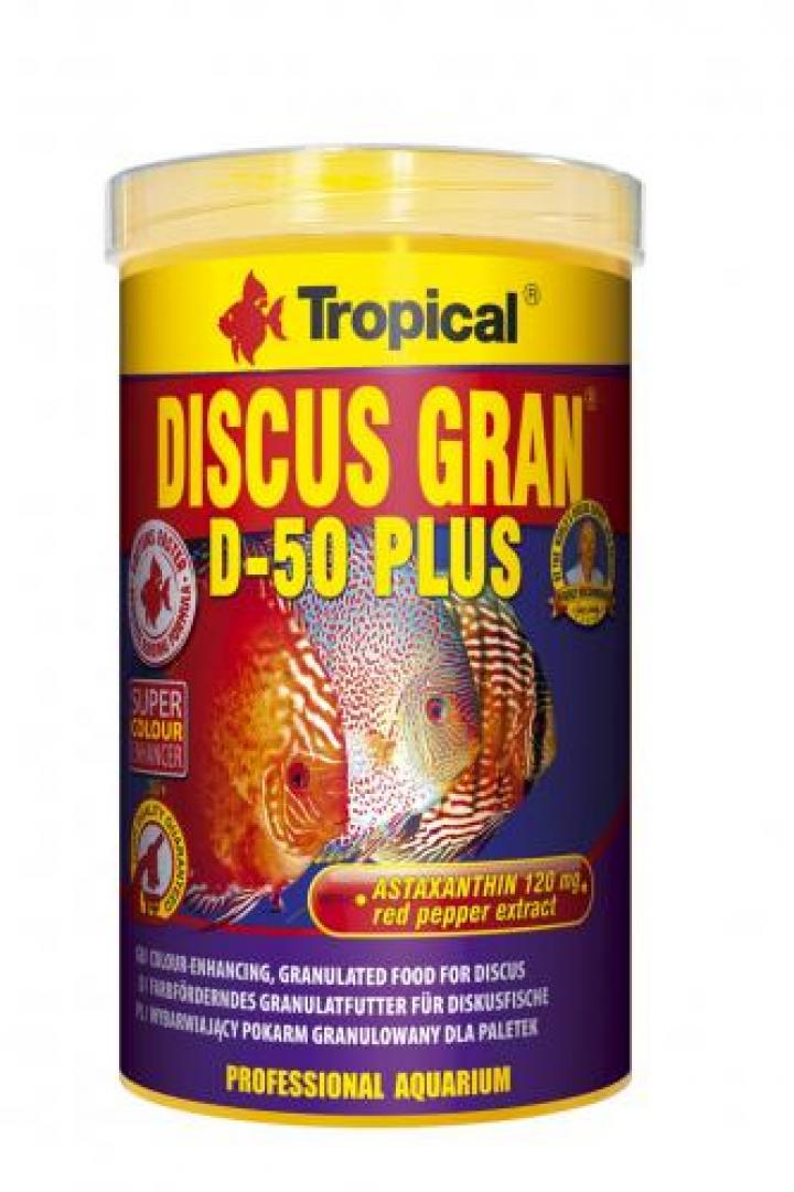 DISCUS GRAN D-50 PLUS 1000 ML-Nova fórmula