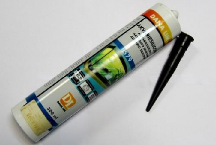ELASTICON PRETO silicone para aquário Dana Lim 300 ml