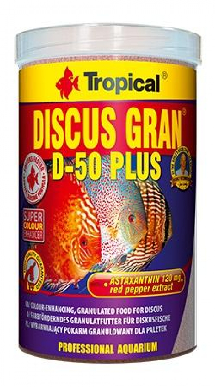 Tropical Discus Gran D-50 Plus 100 ml