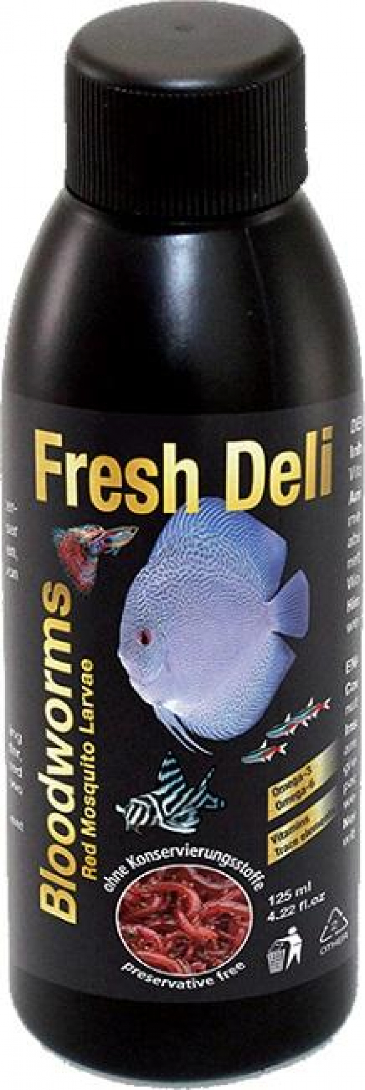 Discusfood Fresh Deli, Bloodworms in nutrient solution 125ml