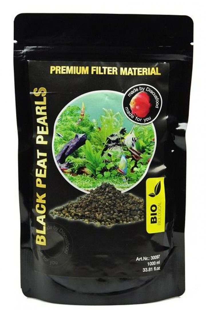 Discusfood Black peat Pearls 1 ltr