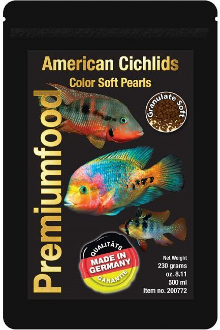 Discusfood American Cichlid colour pearls 230grs