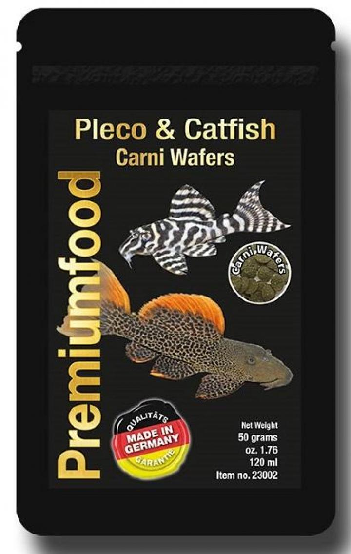 Discusfood Pleco & Catfish Carni Wafers 50grs