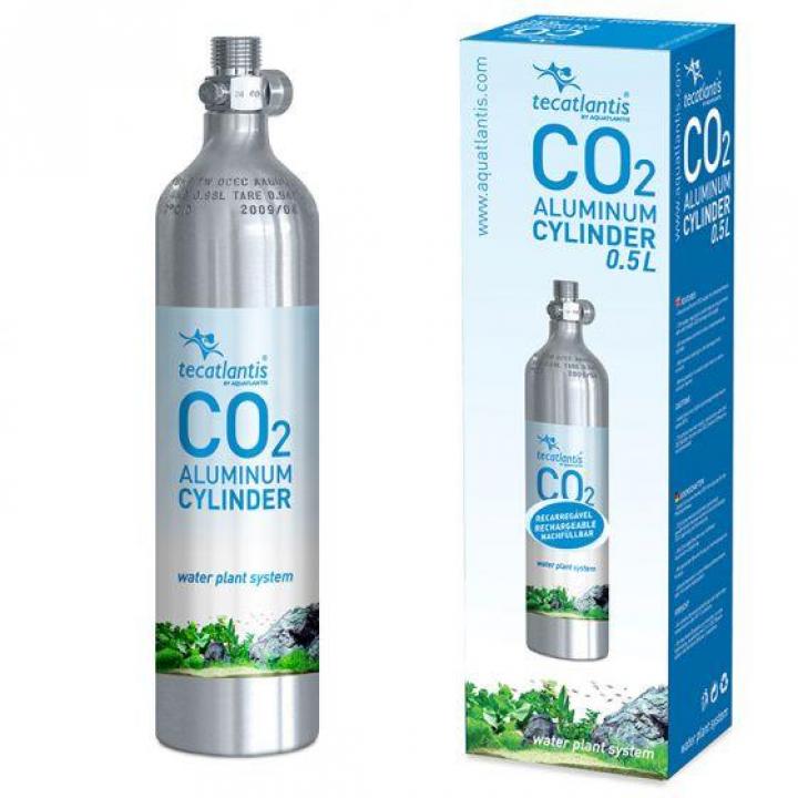 GARRAFA DE CO2 EM ALÚMINIO 0.5L