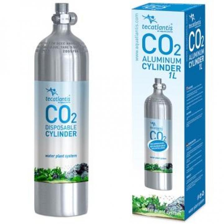 GARRAFA DE CO2 EM ALÚMINIO 1L