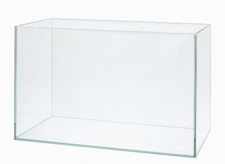 Aquário em vidro de 10mm float c 80X40X40cm s/tampas