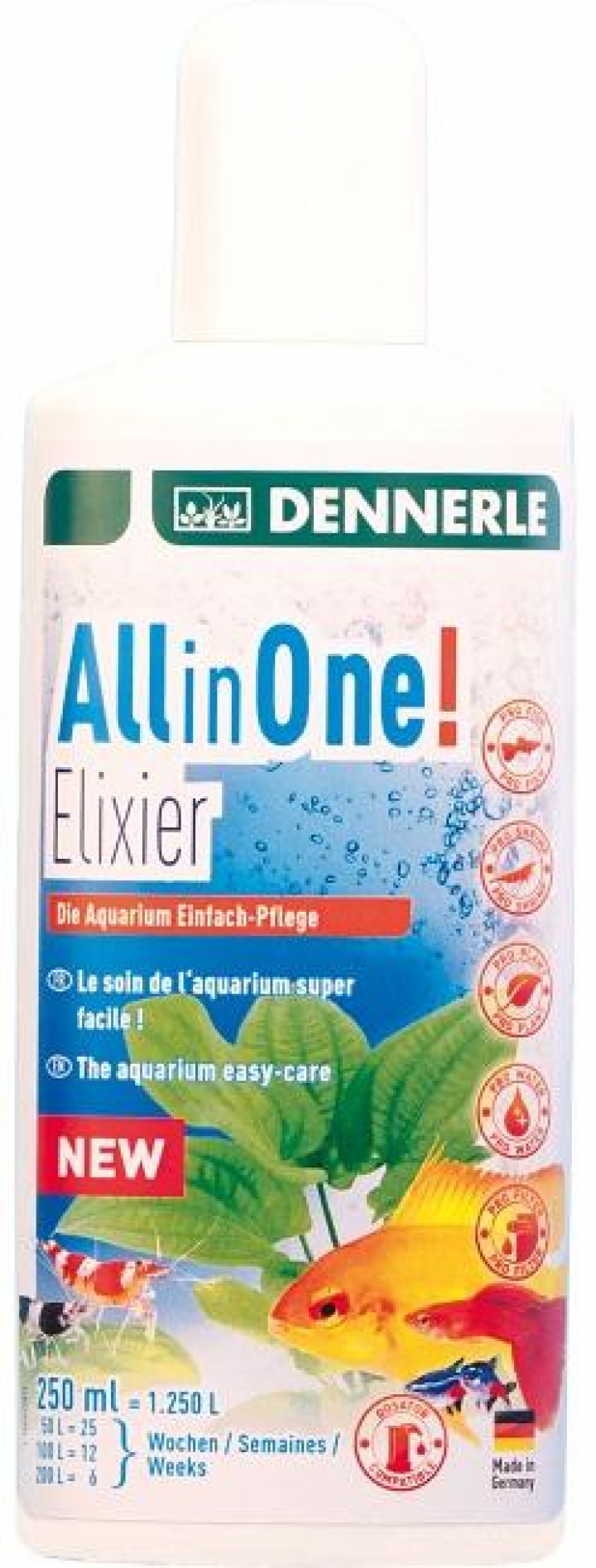 Dennerle - All in One Elixir 250ml
