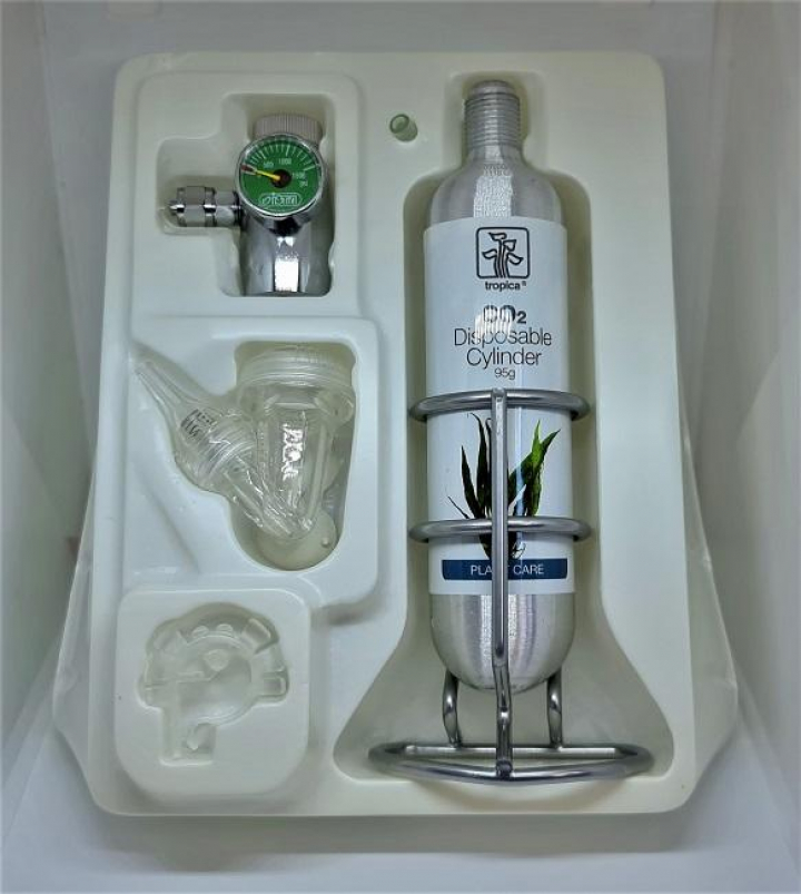 Kit de CO2 iSTA c garrafa 95grs e suporte