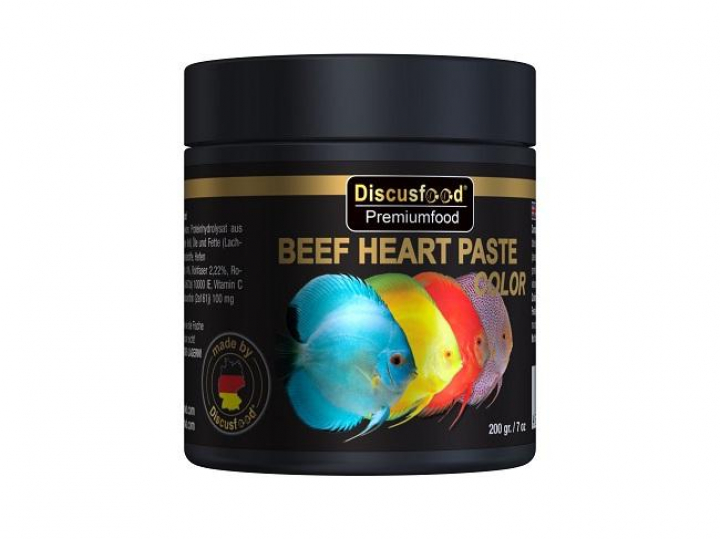 Discusfood Beef Heart paste Color 200 grs