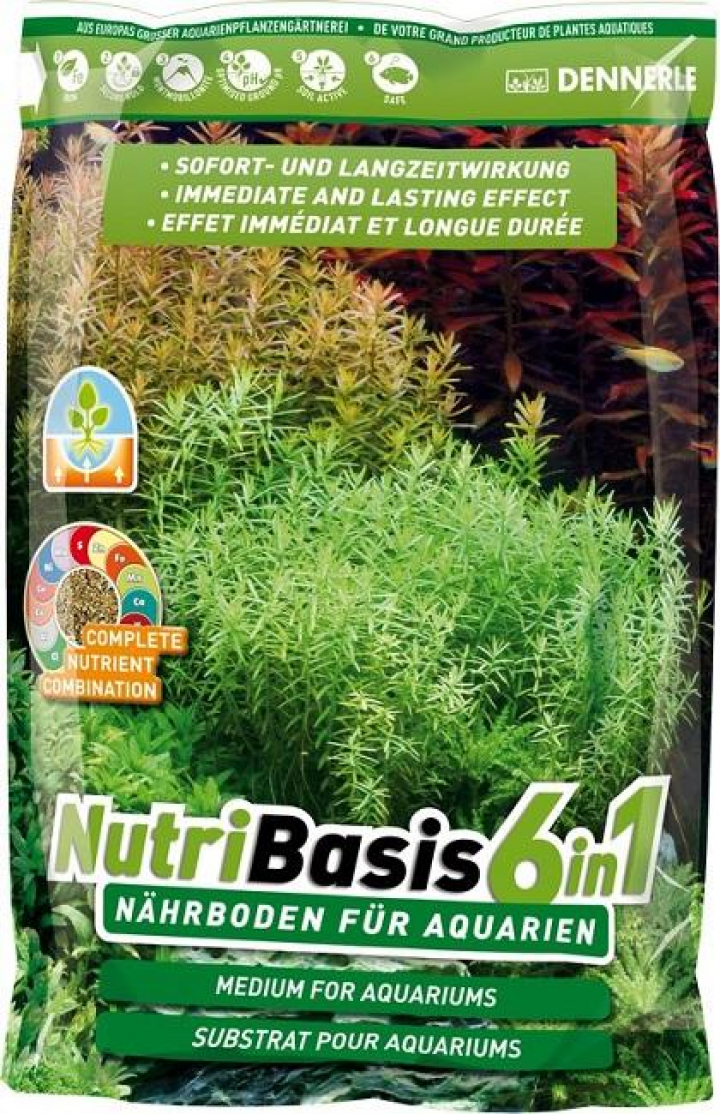 Dennerle - NutriBasis 6in1 - 9,6 kg