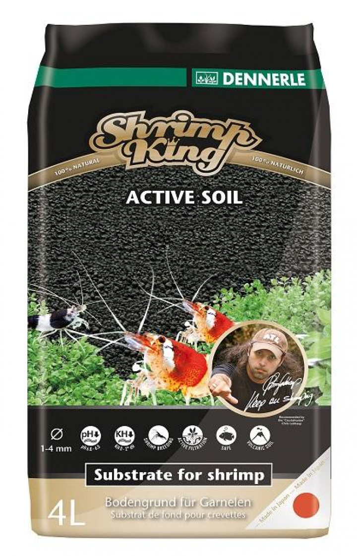 Dennerle - ShrimpKing Active Soil 4L