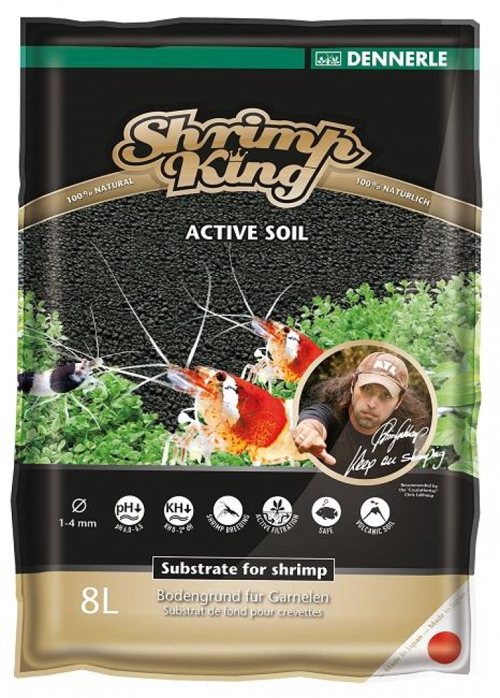 Dennerle - ShrimpKing Active Soil 8L