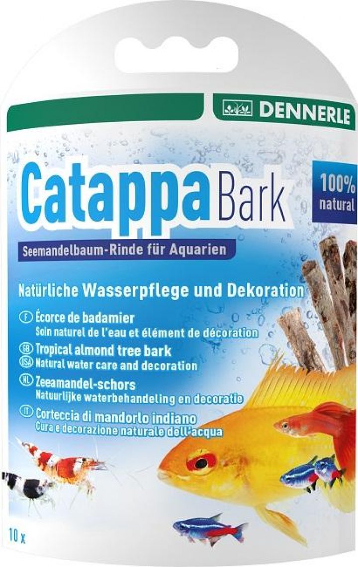 Dennerle - Catappa Bark, 12cm for 160l