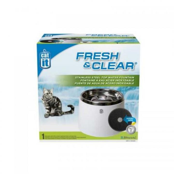 Bebedouro - Fonte em Aço Inox 2 litros CATIT